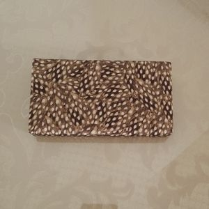 Banana Republic Hardcase Clutch Purse